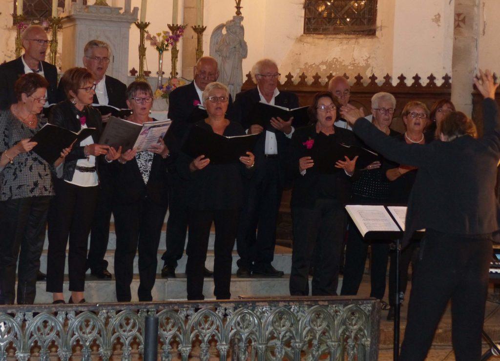 Sant-Etienne aux Clos, Chorale de Prondines,