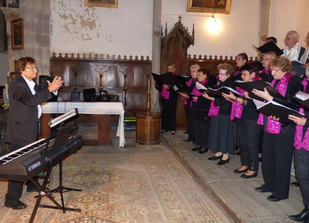 Saint-Etienne aux Clos, Cantate en FA