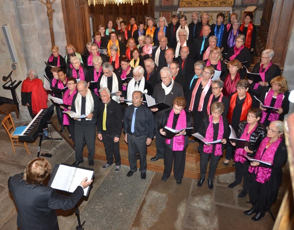 octobre 2017- Cantate en Fa et la chorale de Pessac