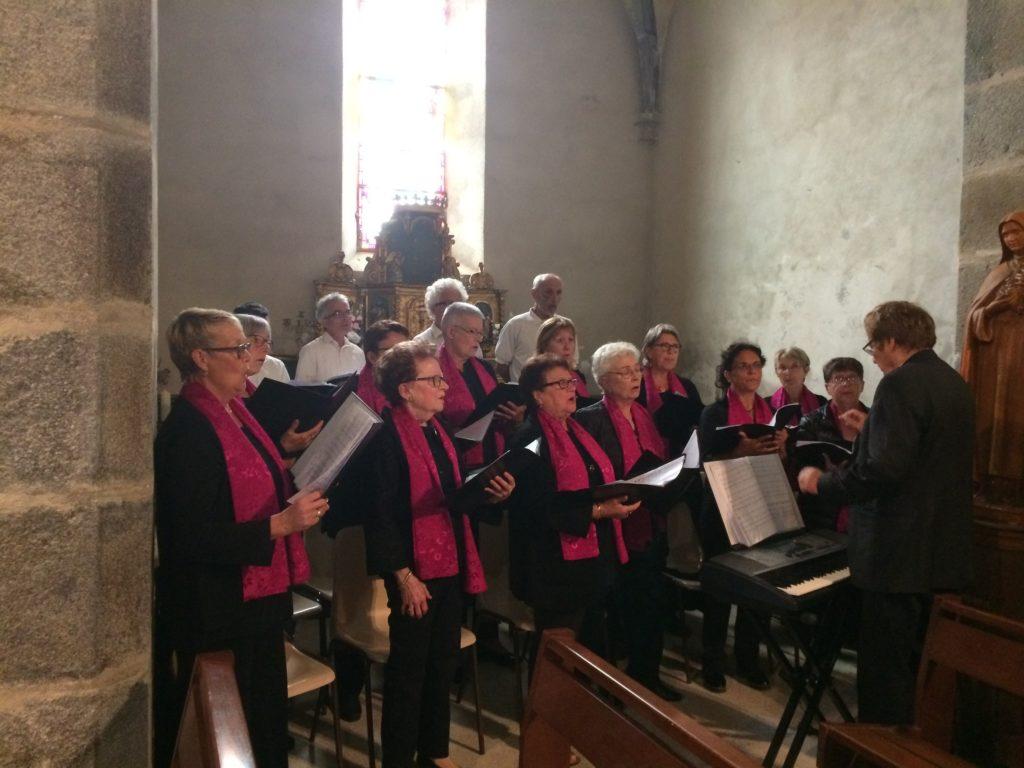 25 août 2018 - inauguration de l'église de Saint-Avit de Tardes