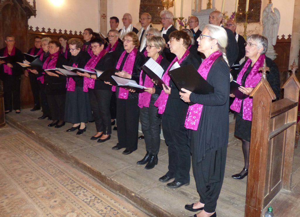 St Etienne aux Clos, Cantate en FA