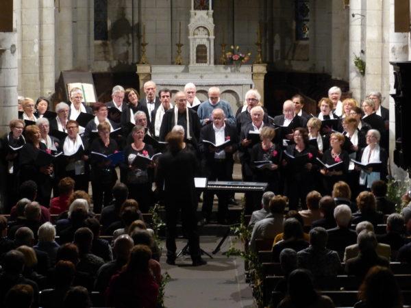 Concert commun avec la chorale de Prondines à Herment