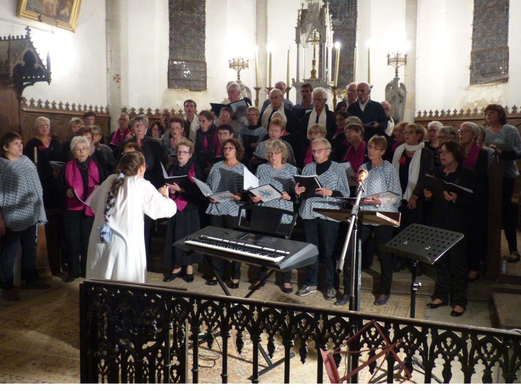 Saint-Etienne aux Clos, les trois chorales