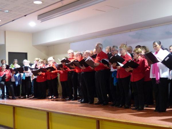 Concert commun avec la chorale de Sarran