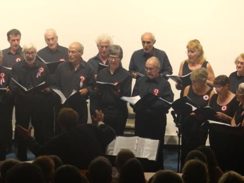 Concert commémoratif du centenaire de l'armistice du 11 novembre 1918 - Aubusson septembre 2018