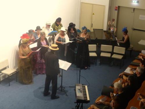 Chorale d'Ahun, Concert commémoratif du centenaire de l'armistice du 11 novembre 1918 - Aubusson septembre 2018