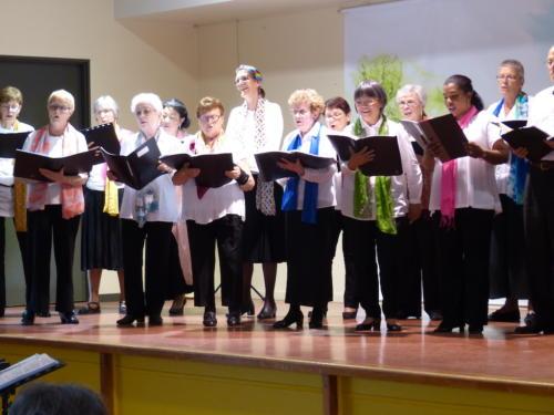 Cantate en FA, les sopranis - Chénérailles 27 mai 2018