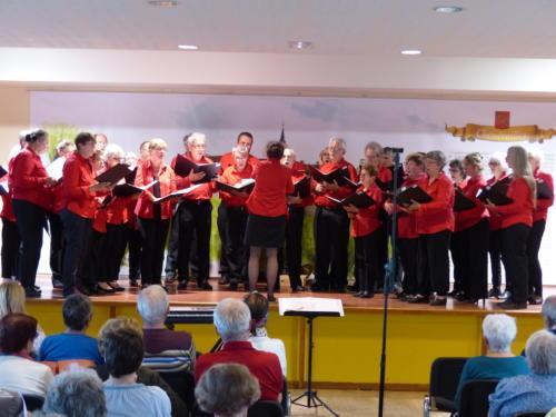 Chorale de Sarran - Chénérailles 27 mai 2018