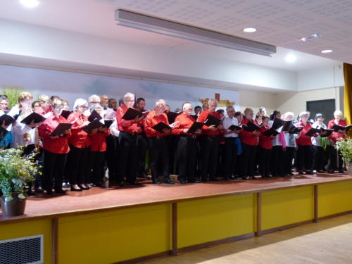 Cantate en FA et la Chorale de Sarran - Chénérailles 27 mai 2018